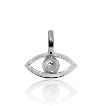 Evil Eye Mini X Charm