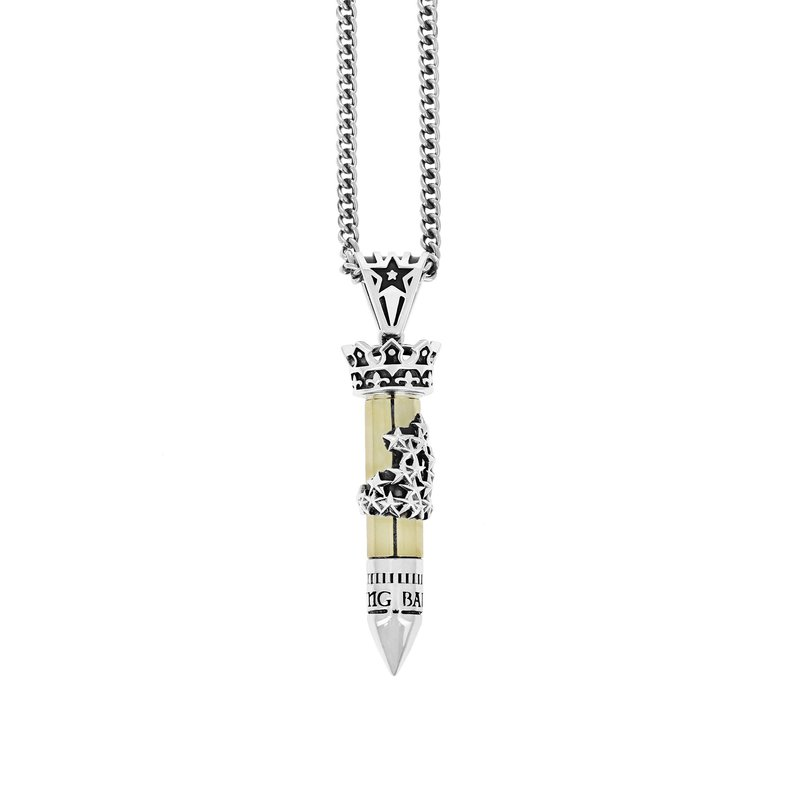 """KING BABY Necklace 24"""""""" Length"""