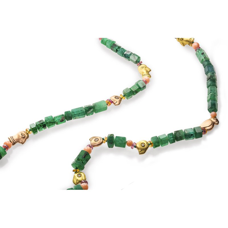 Alex Sepkus One of a Kind Beaded Necklace
