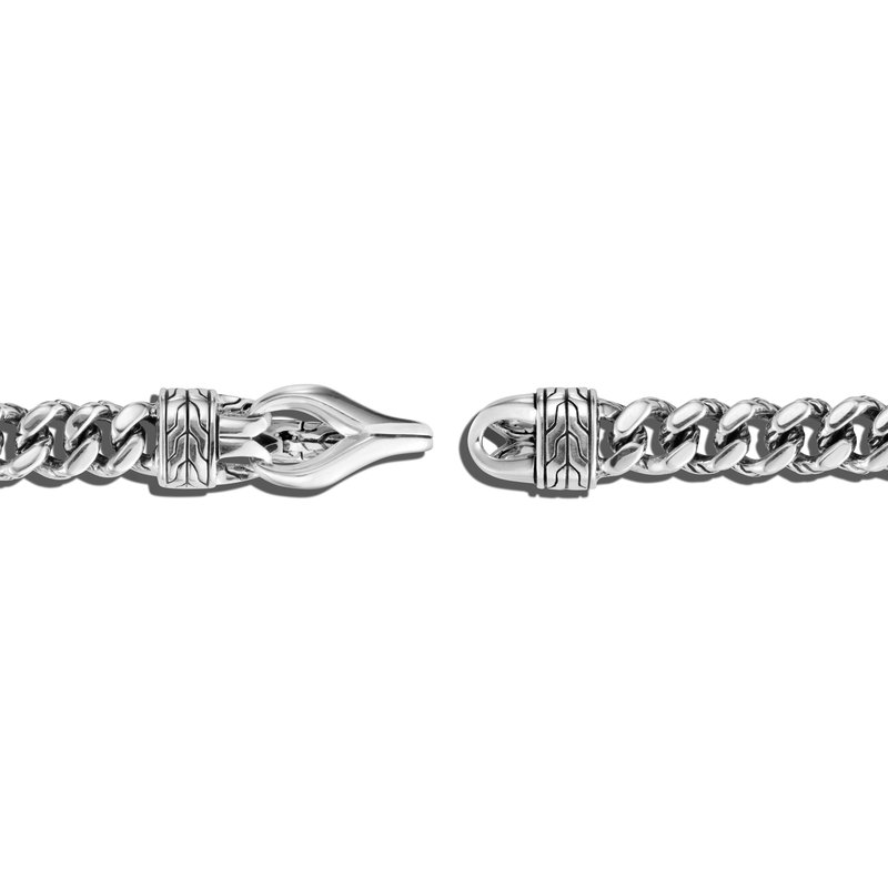 John Hardy Curb Link Bracelet with Hook Clasp, Size S