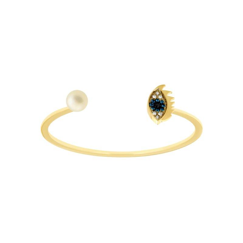 Delfina Delettrez Cuff Bracelet