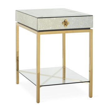 Delphine Tall Side Table