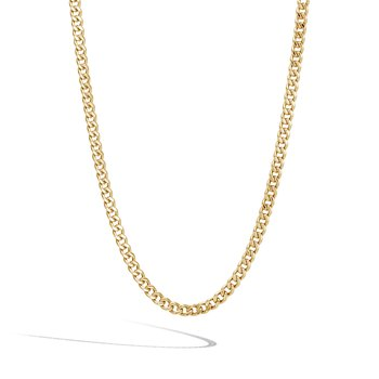 """Curb Link Necklace 20"""" Length"""
