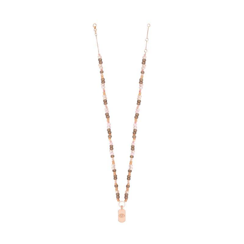 Diane Kordas Jewellery Mini Eye Tag Necklace