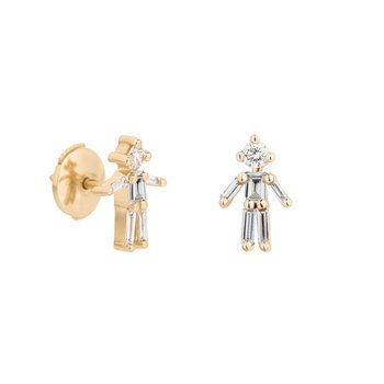 Single Boy Stud Earring
