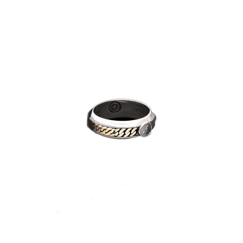 Men's Chain Band Ring Size 10