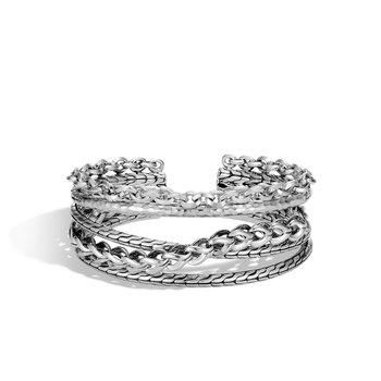 Cuff Bracelet Size Medium adjustable to Large