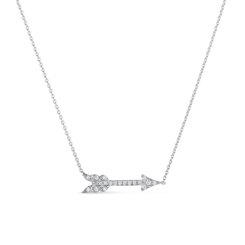 """Roberto Coin Arrow Necklace Length 18"""""""