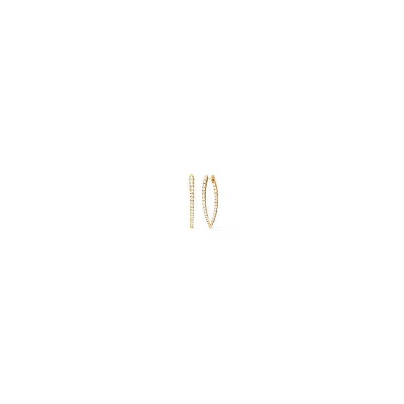Melissa Kaye Medium Earrings