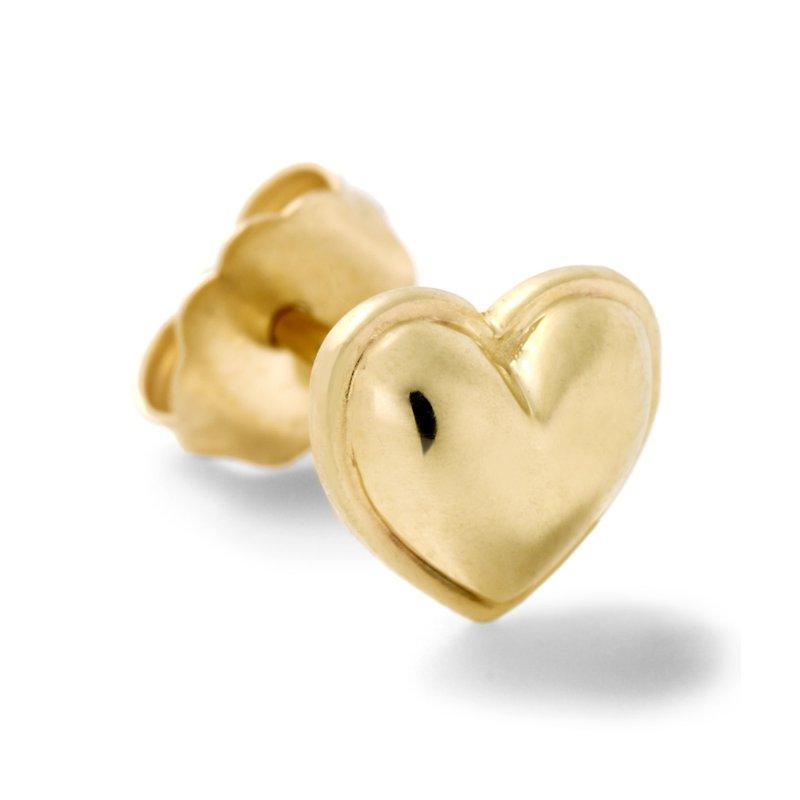 Alison Lou Heart Single Stud Earring