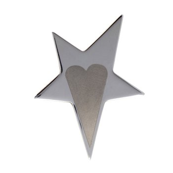 Star & Heart Ring Size 6