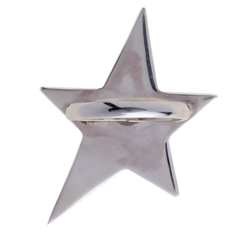 Franco Pianegonda Star & Heart Ring Size 6