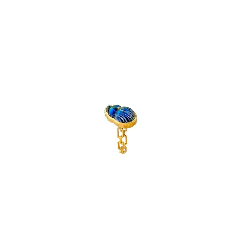 Lito Karakostanoglou Small Sienna Chain Ring Size 6 1/4