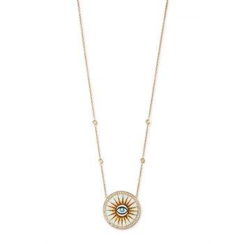 Eye Burst Necklace
