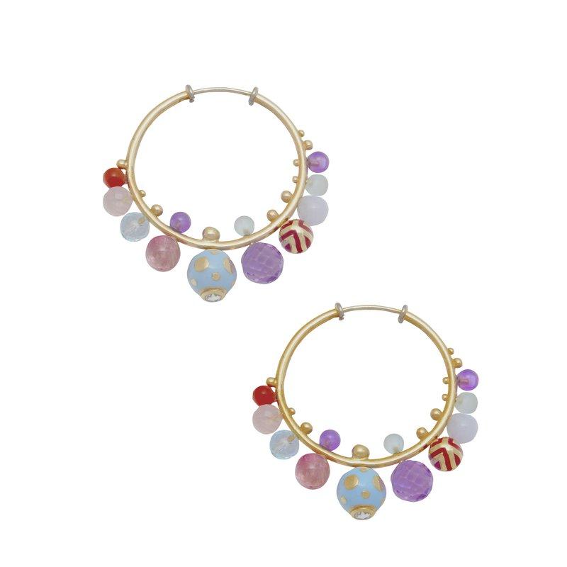Alice Cicolini Hoop Earrings