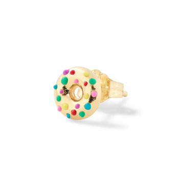 Donut Single Stud Earring