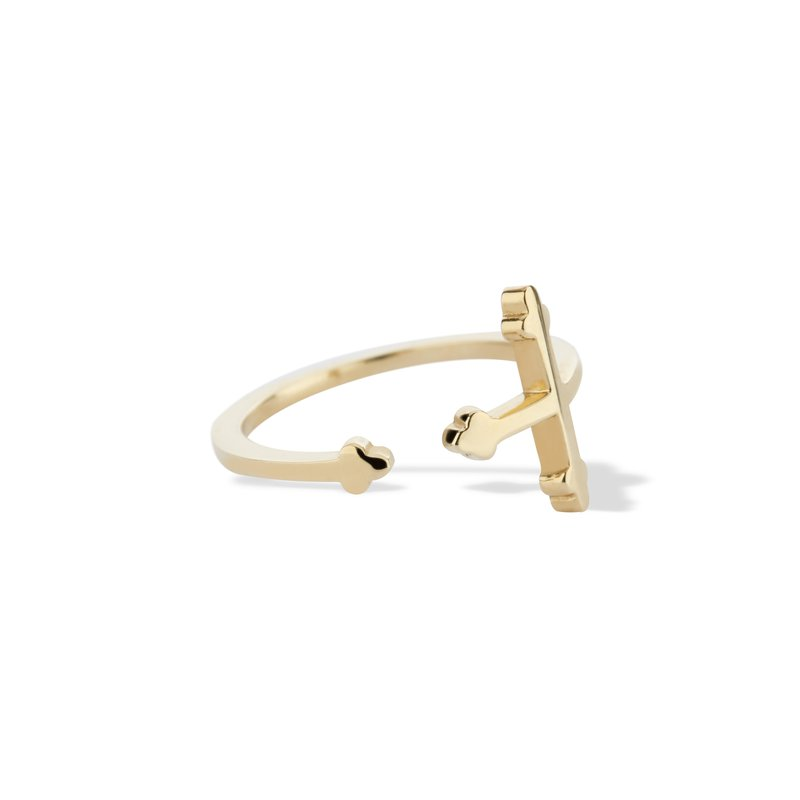 DRU Cross Your Fingers Ring Size 6
