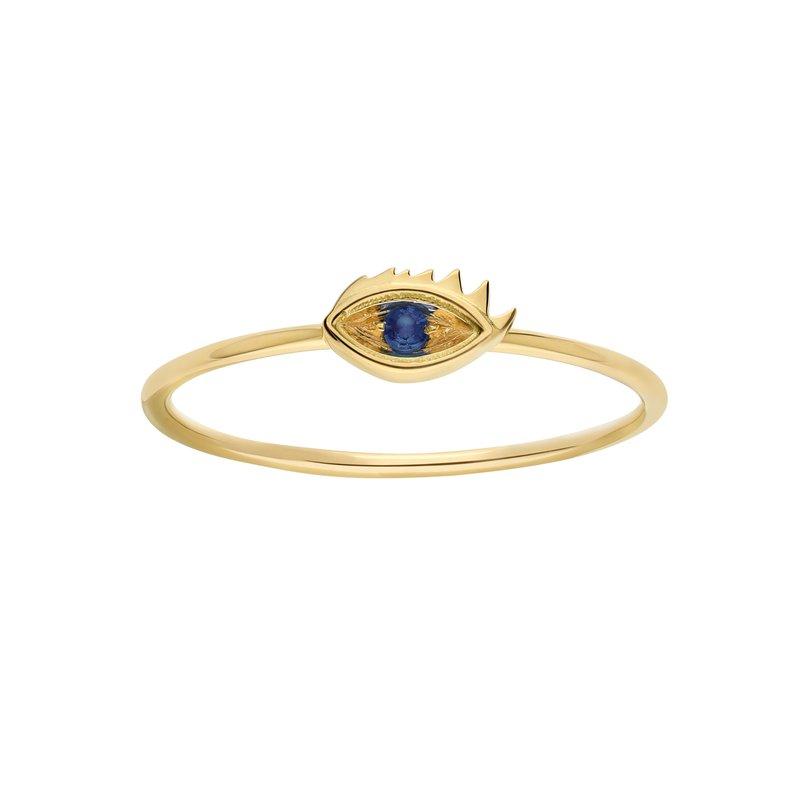 Delfina Delettrez Evil Eye Ring Size 7