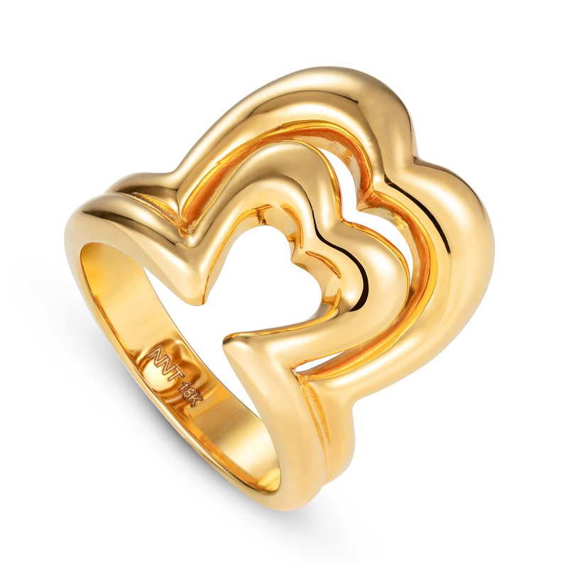 Nevernot Heart Ring Size 7