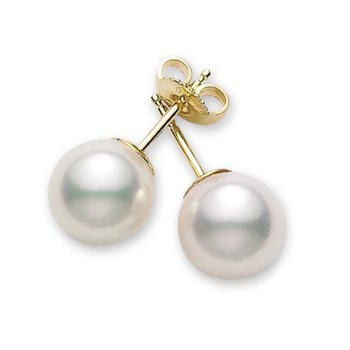 Pearl 6-6.5mm Stud Earrings