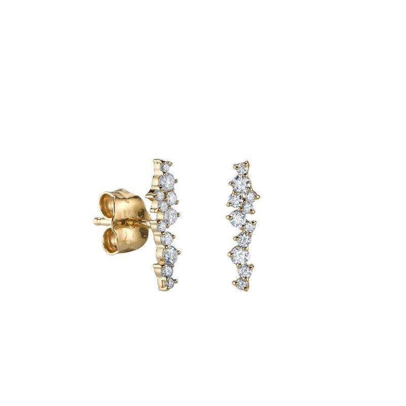 Sydney Evan Cocktail Bar Stud Earrings