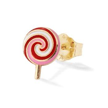 Lollipop Single Stud Earring