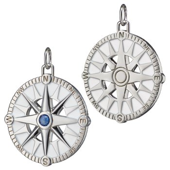 Compass Charm Size Large