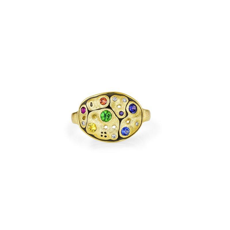 Alex Sepkus Dome Ring Size 7
