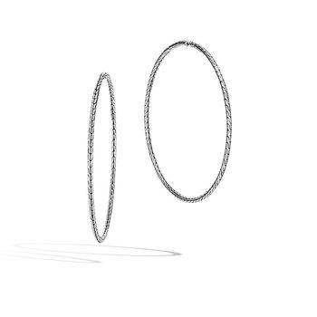 X-Large Hoop Earrings Size 71.5mm