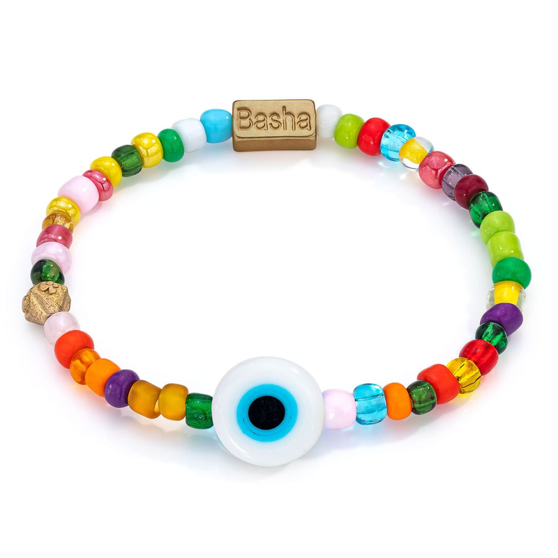 Aaron Basha Clarity Bead Bracelet