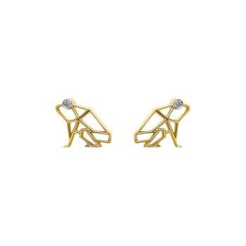 Keko Coqui Mini Stud Earrings