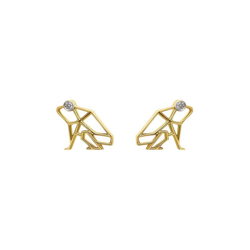 ITA Keko Coqui Mini Stud Earrings