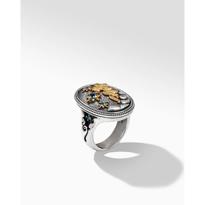 Konstantino Oval Ring Size 7