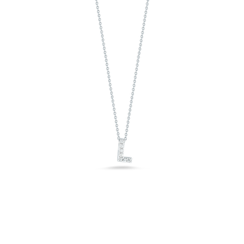 "Love Letter L Necklace Length 16"" adjustable to 18"""