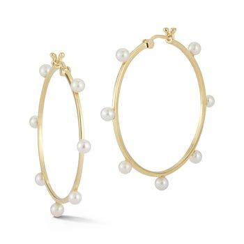 Large Hoop Earrings Size 35mm