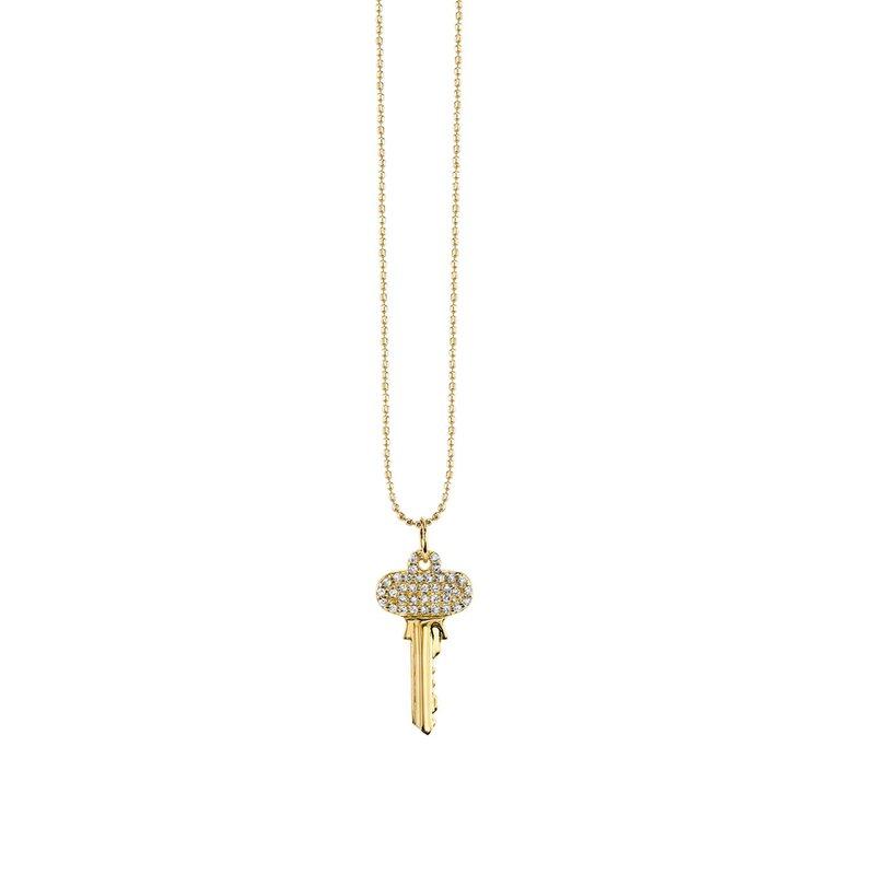 Sydney Evan Small Key Necklace