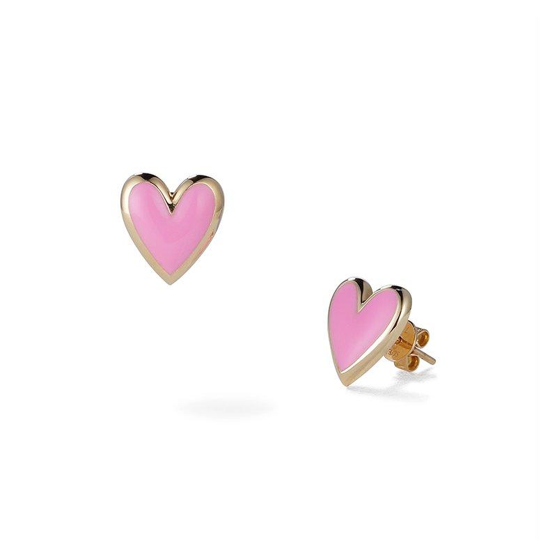 Suel Heart Stud Earrings