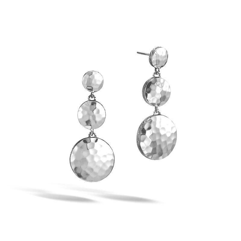 John Hardy Triple Drop Linear Earrings