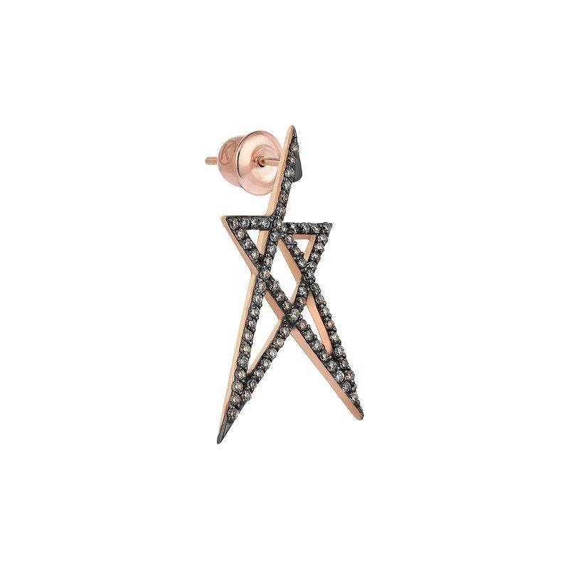 Kismet by Milka Small Single Earring