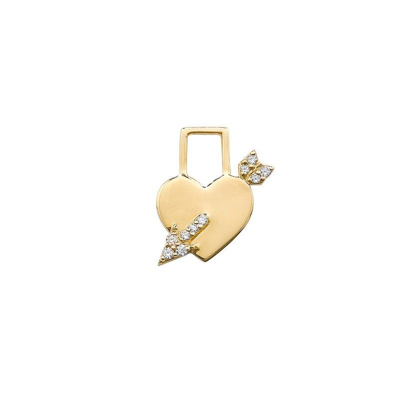 Robinson Pelham Cupid's Heart Charm
