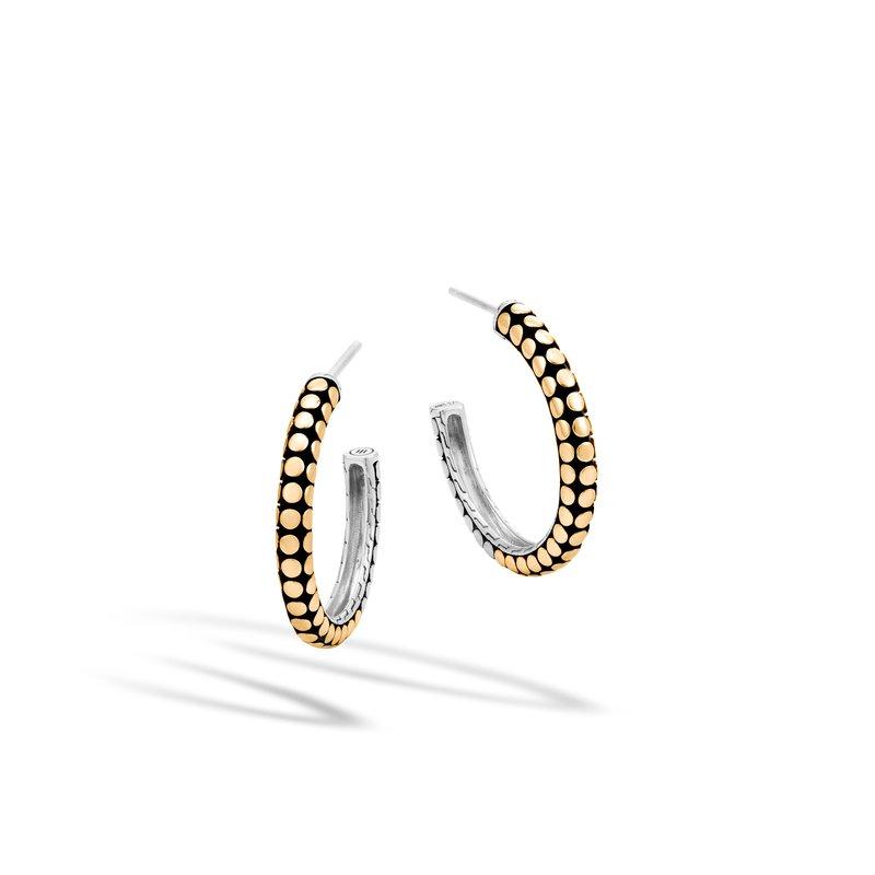 John Hardy Small Hoop Earrings Size 20mm