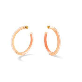 Medium Jelly Hoop  Earrings