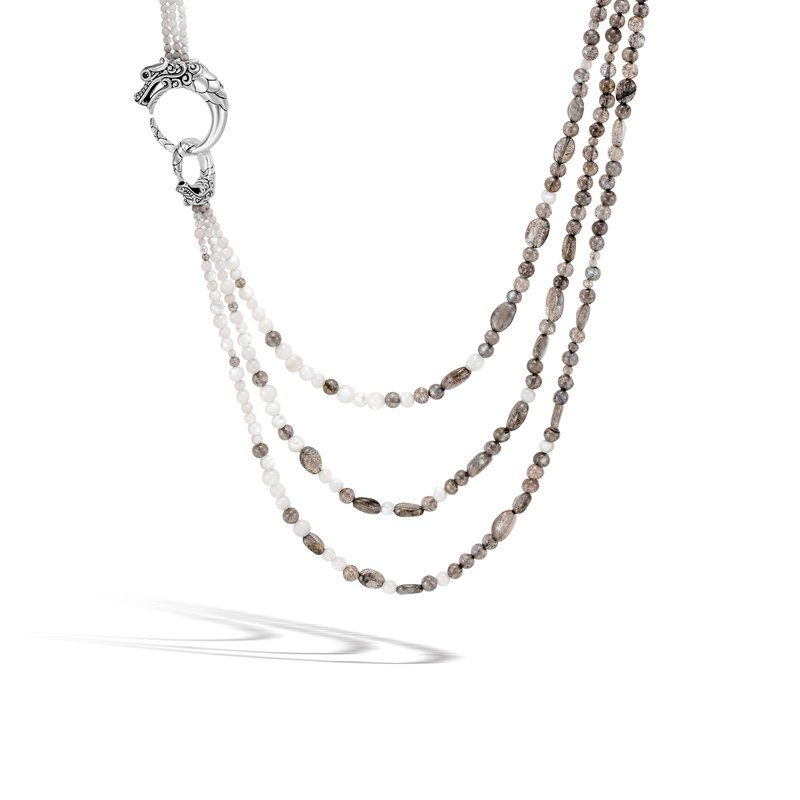 John Hardy Multi Row Necklace