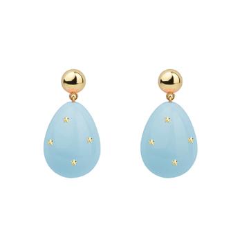 Mini Drop Stars Earrings