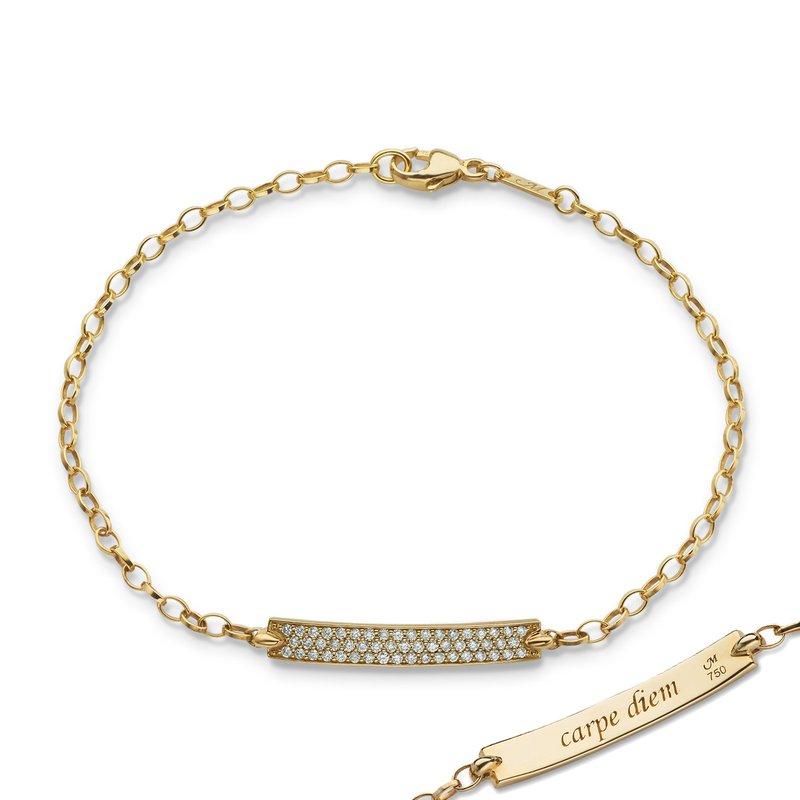 Monica Rich Kosann ID Bracelet