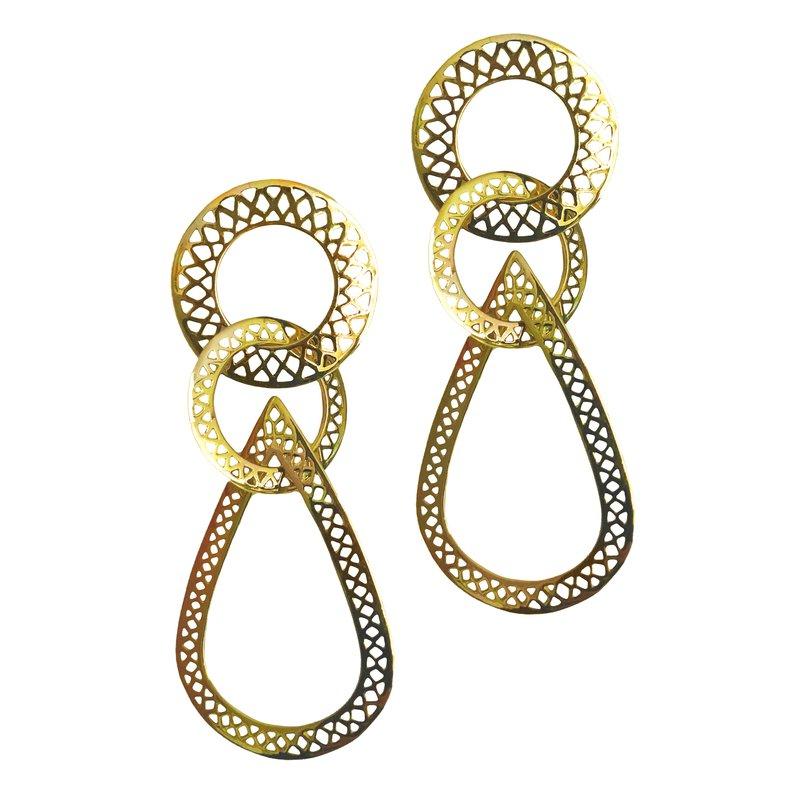 RAY GRIFFITHS Drop Earrings