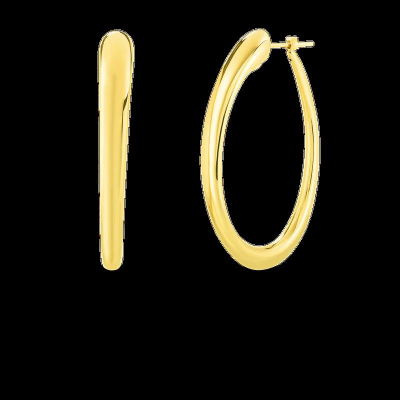 Roberto Coin Hoop Earrings