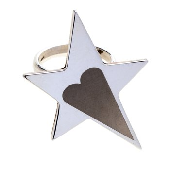 Star & Heart Ring Size 8