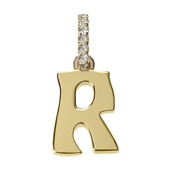 Initial Letter R Charm