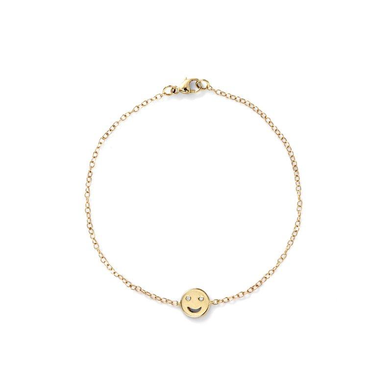 Alison Lou Happy Face Bracelet